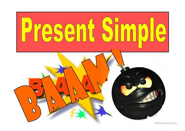 PRESENT SIMPLE GAME