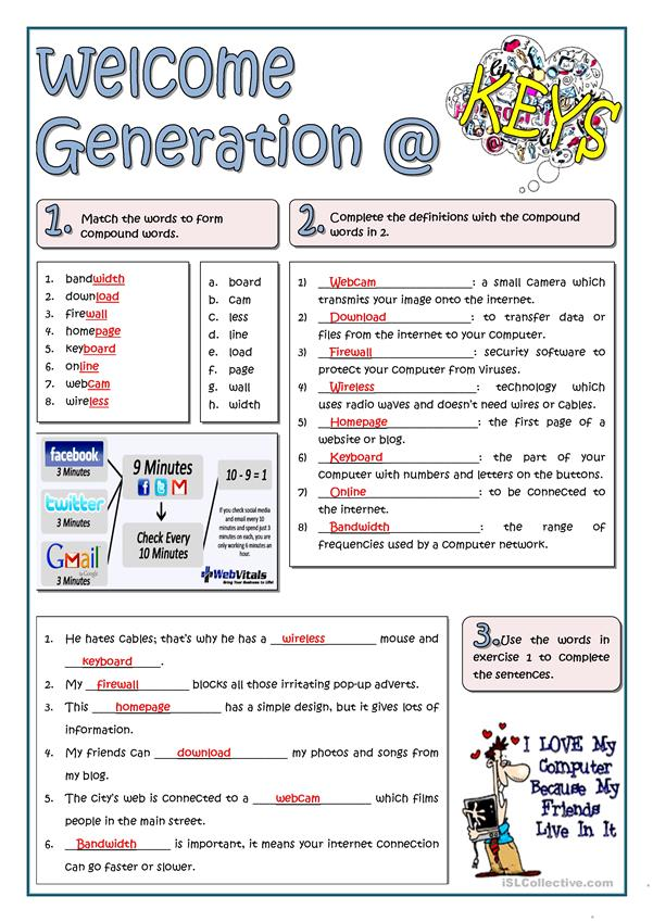 WELCOME GENERATION @
