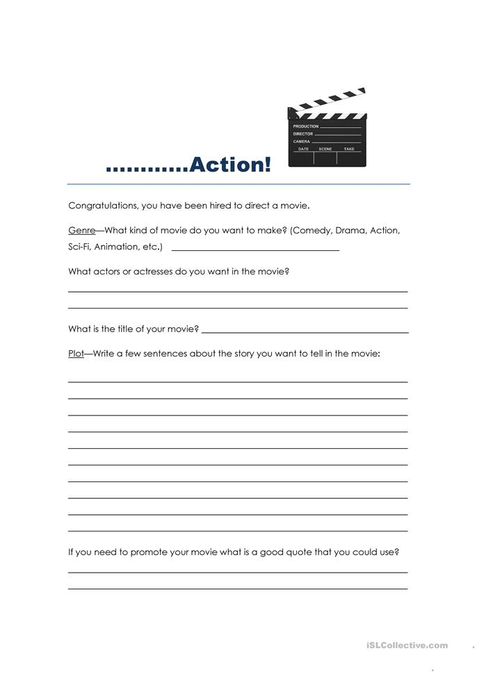 Printables Make Your Own Worksheet 12 free esl make your own worksheets movie