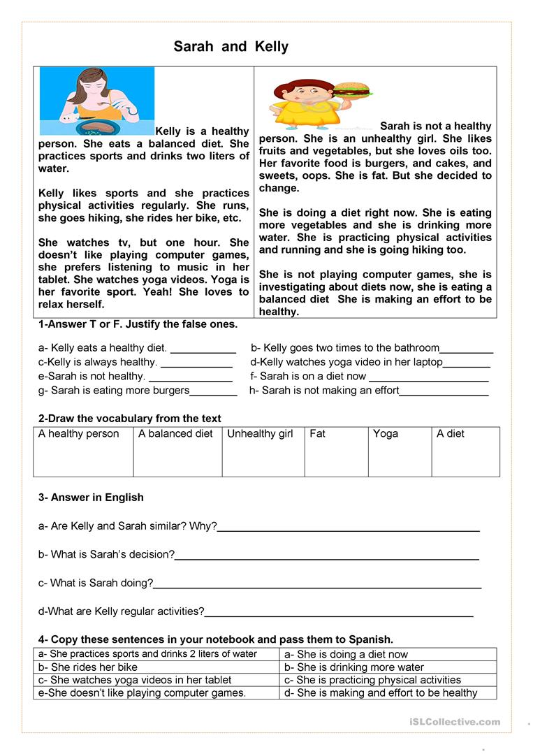 Sports, simple present and present progressive worksheet - Free ...