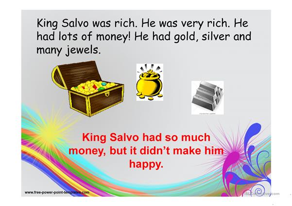 King Salvo and the Wise Witch