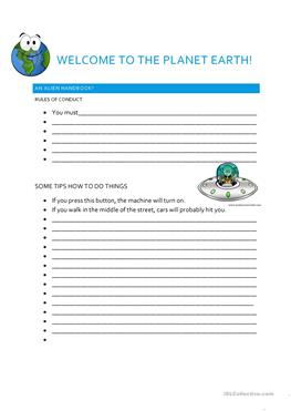9 free esl planet earth worksheets. Black Bedroom Furniture Sets. Home Design Ideas