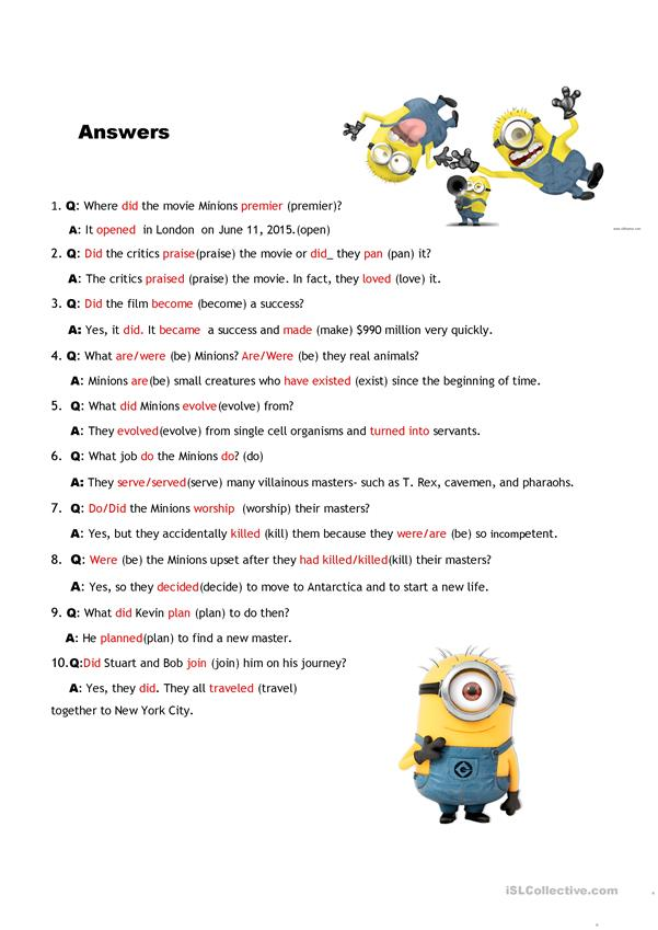 Interview the Minions with KEY