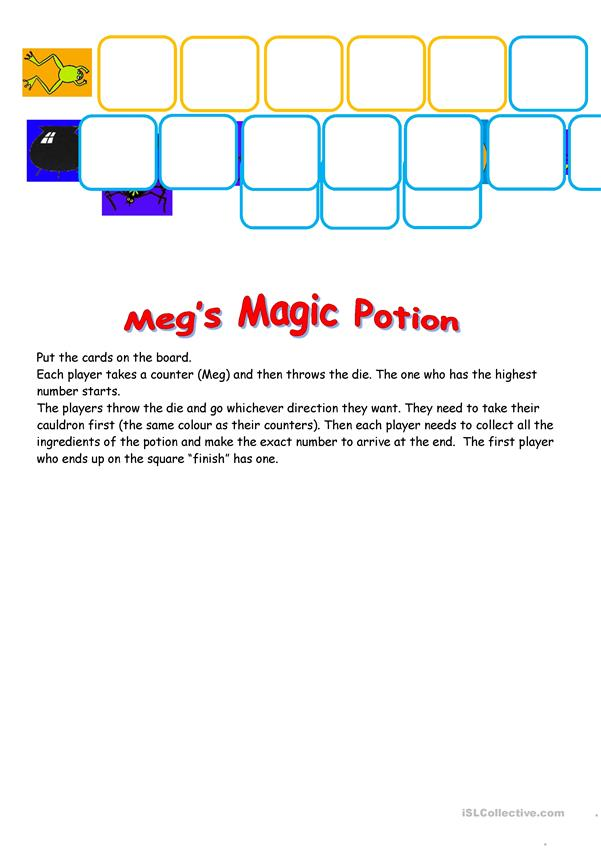 Meg's Magic Potion