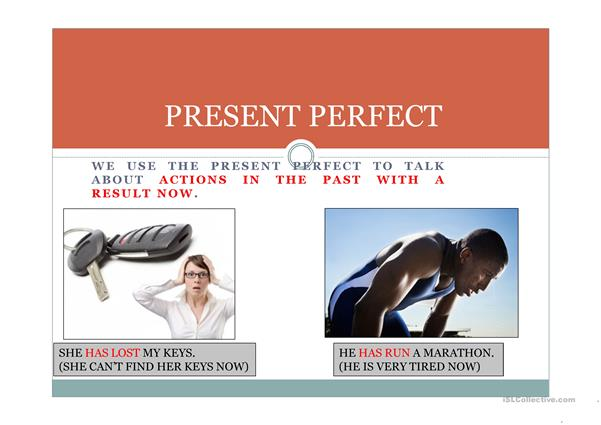 Present Perfect Powerpoint Presentation