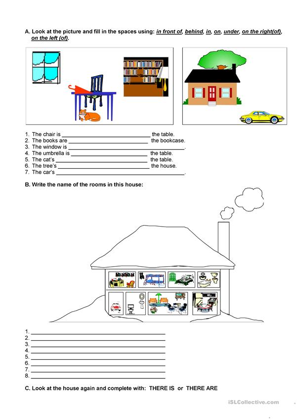 THE HOUSE AND PREPOSITIONS