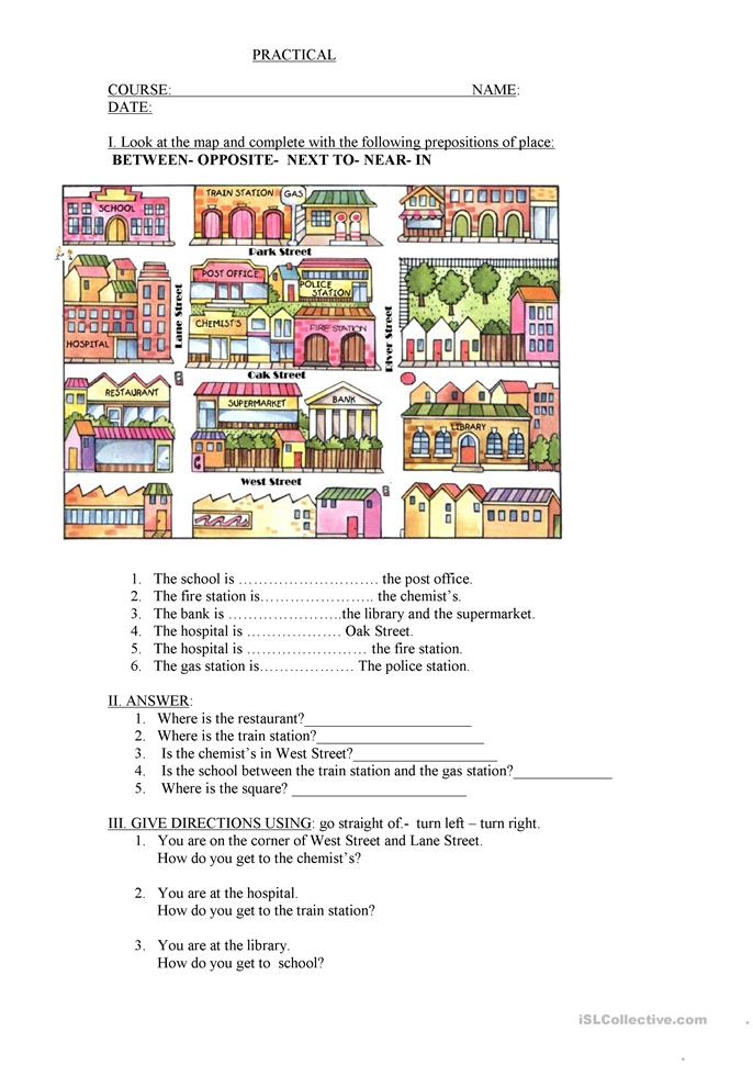 Preposition In Learn In Marathi All Complate: Prepositions With KEY Worksheet
