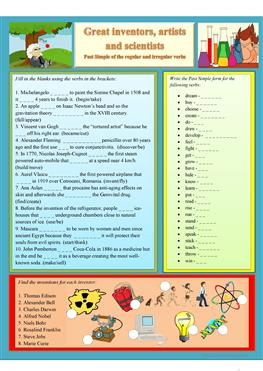 English ESL science, high school worksheets - Most downloaded (48 ...