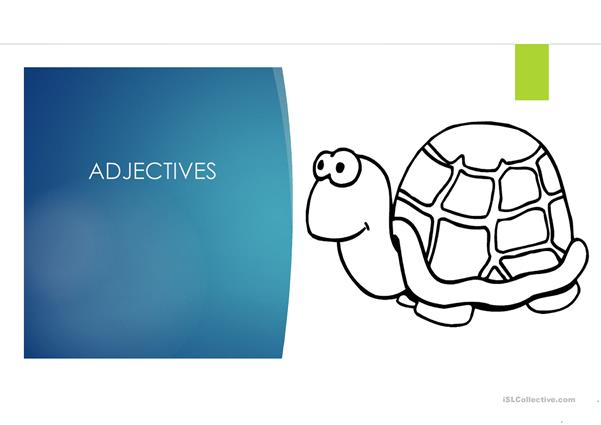 Adjectives and Comparatives PPT