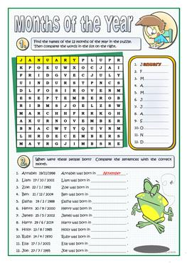 108 FREE Months Days of The Week Worksheets further Months of the Year Worksheets   guruparents besides 55 FREE ESL months of the year worksheets in addition  together with Fill in the missing letters to make the months of the year Worksheet likewise  besides Printable Months of the Year Vocabulary Worksheets   Months of the as well 2 Trace the Months of the Year Worksheets  Pre KDG together with ENGLISH FUN TIME   eslchallenge additionally 55 FREE ESL months of the year worksheets moreover Months of the Year Worksheet   Ordering additionally  together with spelling days of the week worksheets in addition Trace the 12 months Worksheet   Twisty Noodle also Months of the Year and days of the week worksheet by joop09 further Months of the year in English   Printable resources. on months of the year worksheet