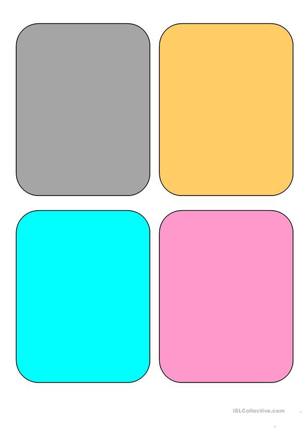Colors - 16 flashcards