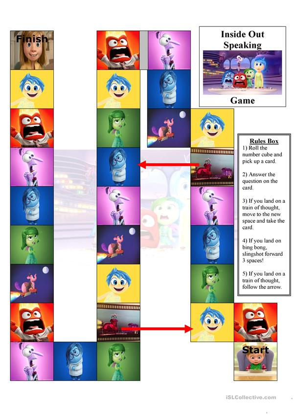 Inside Out Speaking Game