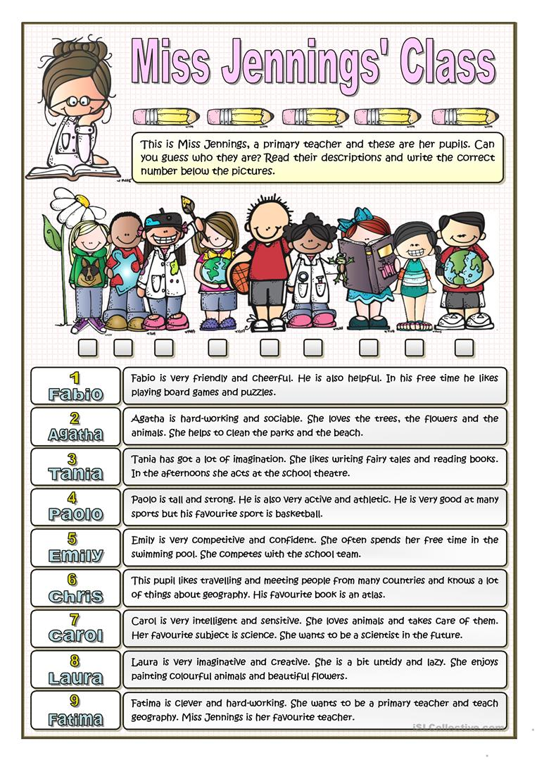 Uncategorized Order Of Adjectives Worksheet 40 free esl adjectives order of worksheets miss jennings class personality and interests