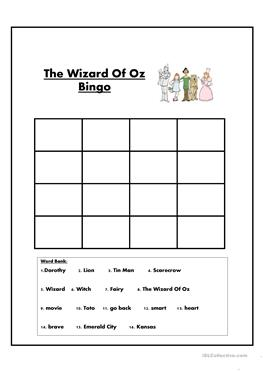 wizard of oz worksheets for kindergarten wizard best free printable worksheets. Black Bedroom Furniture Sets. Home Design Ideas