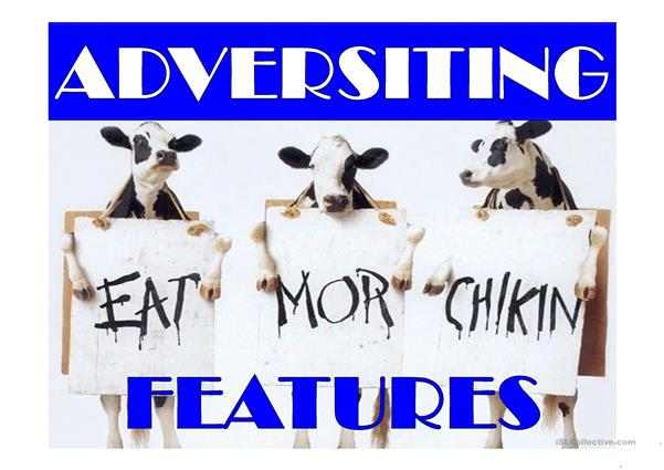 ADVERTISING - language features