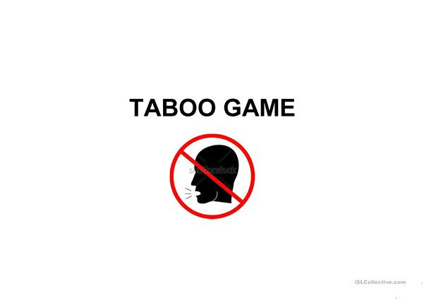 Housing - Taboo Game