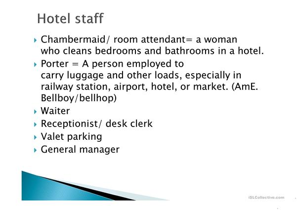types of accommodation