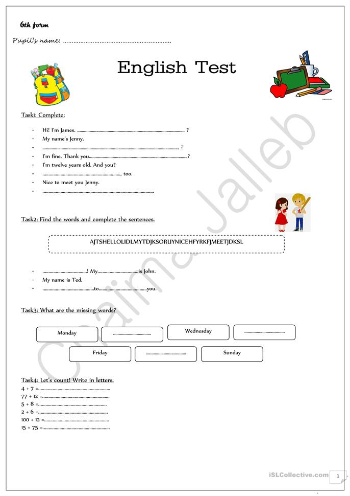 Worksheets Esl Worksheets For Beginners 35 free esl evaluation worksheets test for beginners