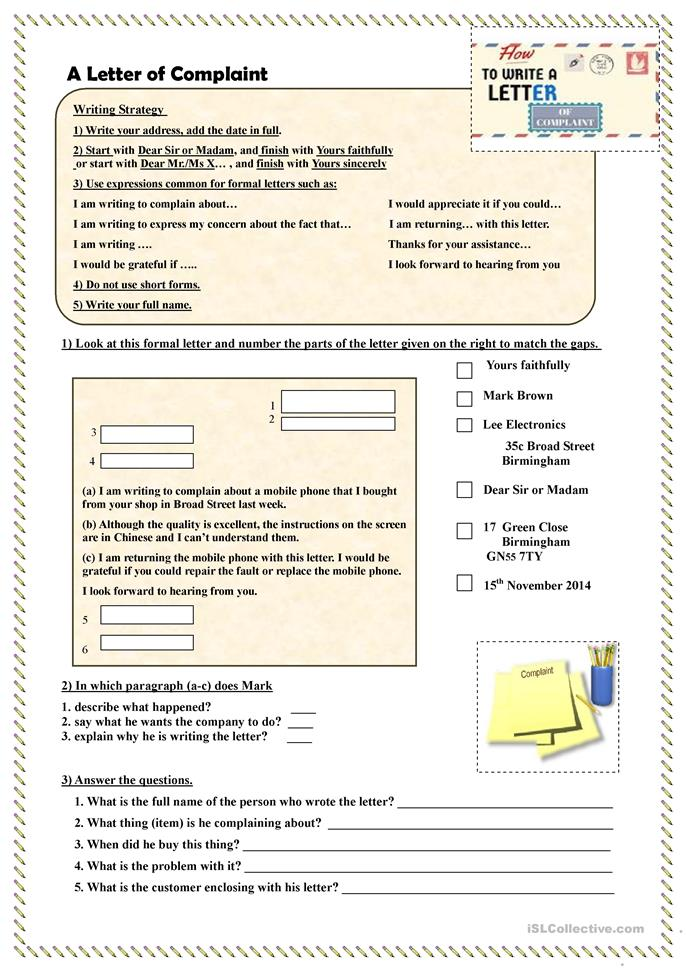 writing exercises for intermediate english learners Level: intermediate this exercise looks at the english vocabulary and phrases  used for writing for both formal and less formal business emails of invitation.