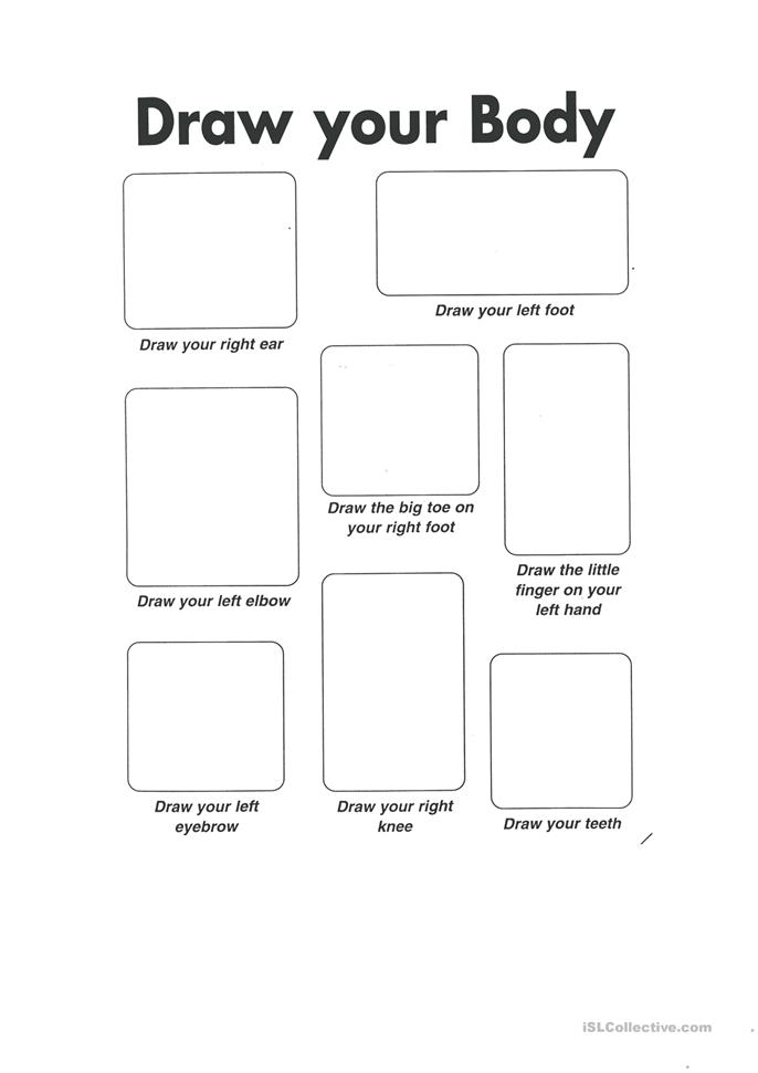 All Worksheets Body Image Worksheets Free Printable Preeschool – Body Image Worksheets