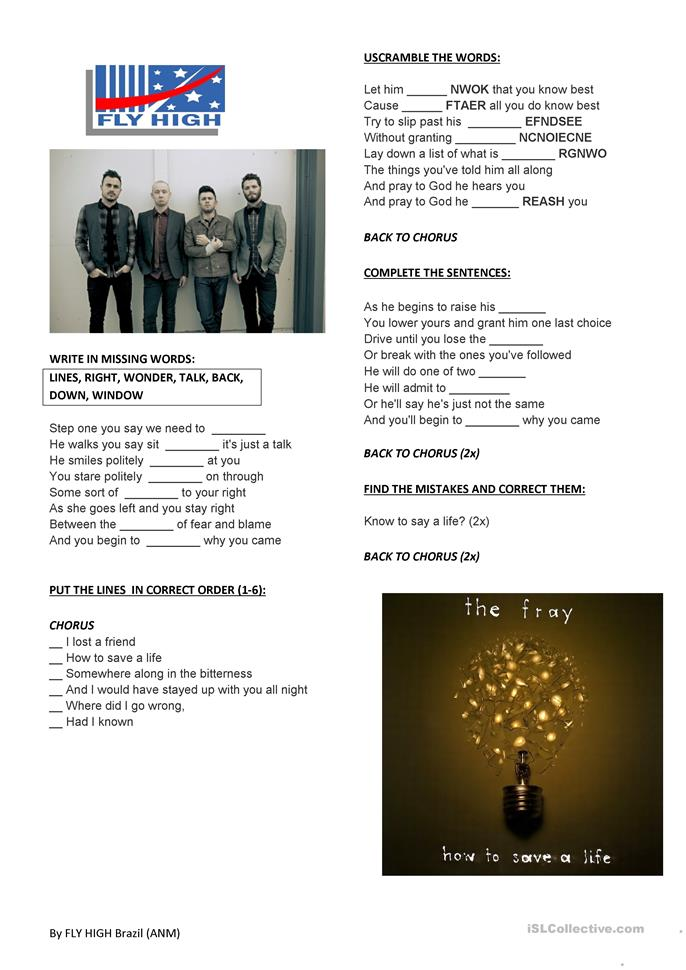 the fray how to save a life download 320kbps