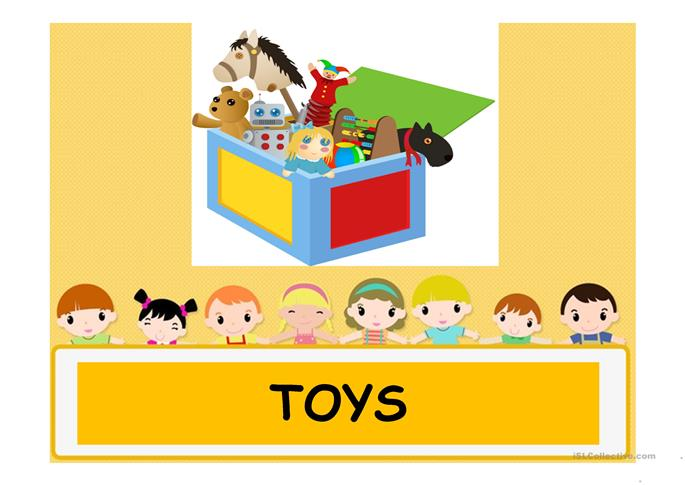 Toys For Teachers : Toys worksheet free esl projectable worksheets made by