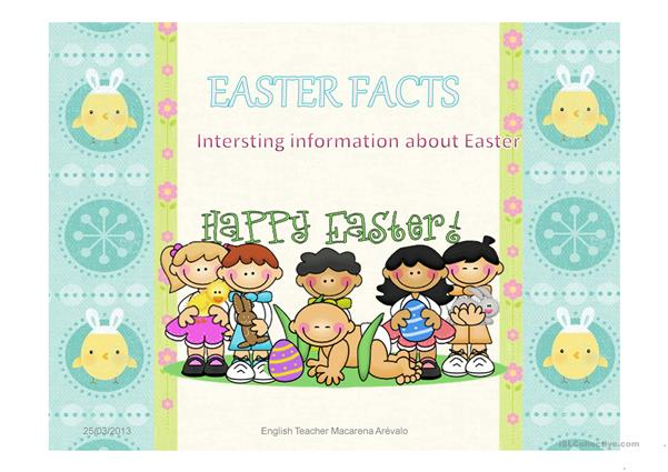 Easter Facts 2013