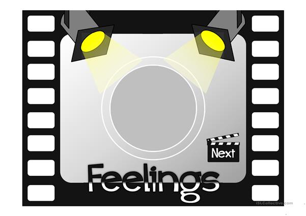Feelings - vocabulary *with sound*