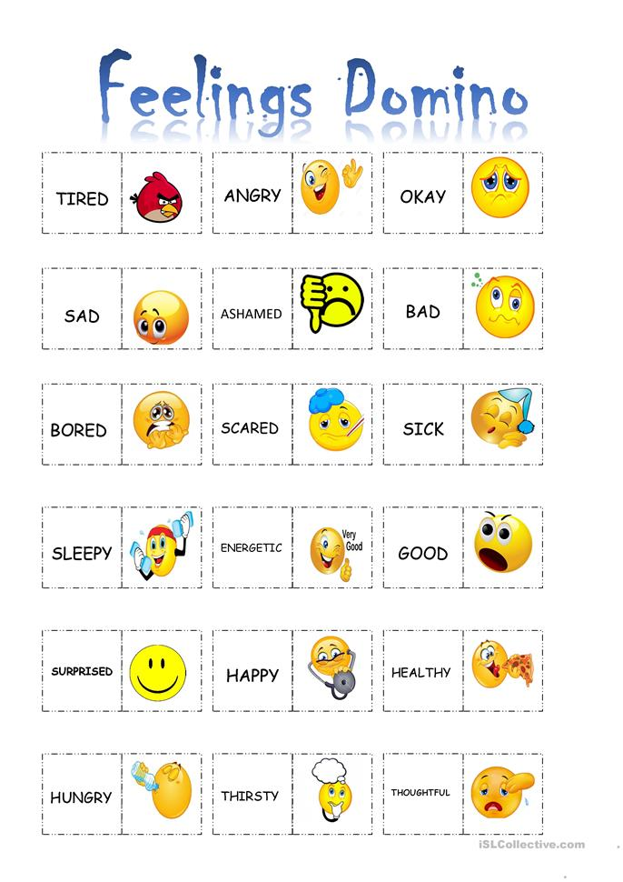 Emotions worksheets for adults pdf
