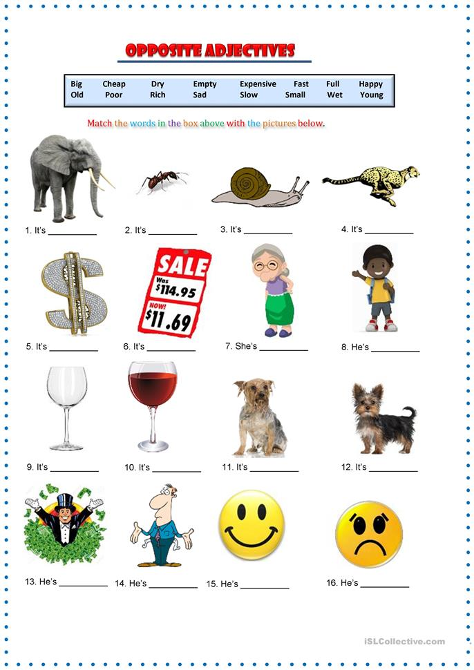Prefixes likewise Small Islcollective Worksheets Beginner Prea Elementary A Adults Students With Special Educational Needs Learning Difficulti D B Ba furthermore Worksheet additionally Adjective Worksheets For Children additionally Opposite Adjectives Matching. on match opposite adjectives