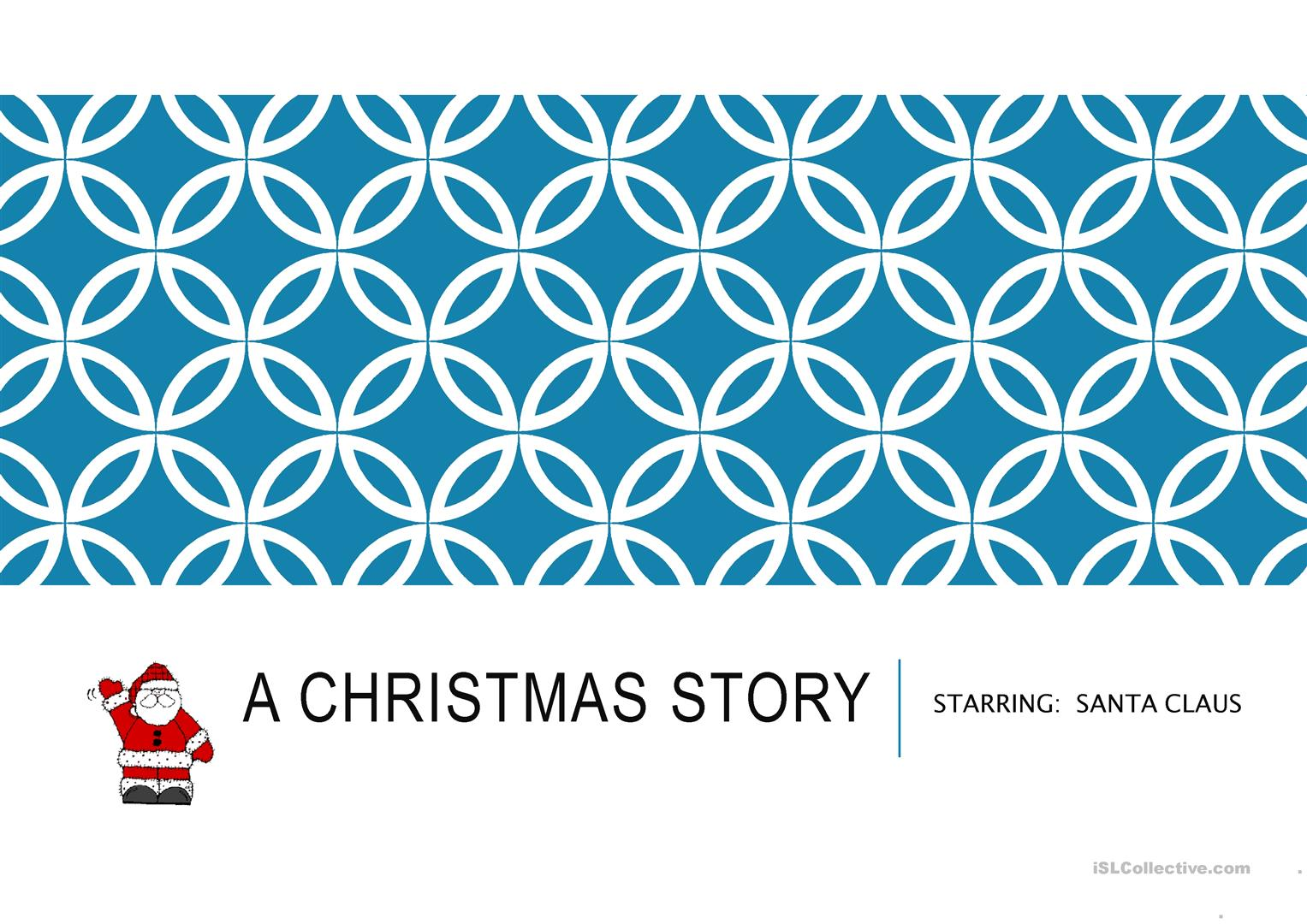Christmas story worksheet - Free ESL projectable worksheets made by ...