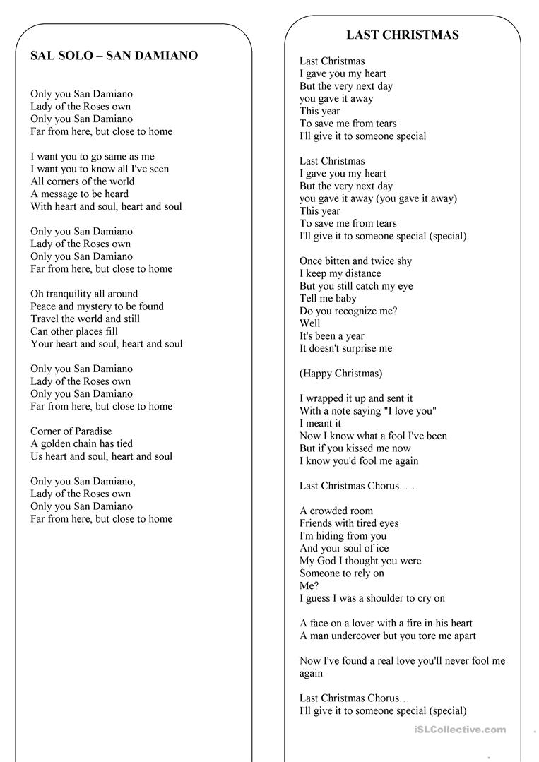 Christmas To Me Lyrics.Christmas The Lyrics Of 8 The Best Christmas Songs And