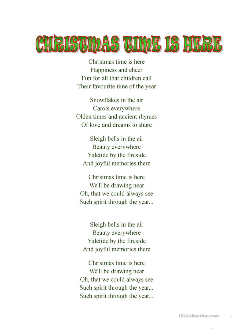christmas time is here song by daniela andrade full screen - Christmas Time Is Here Song