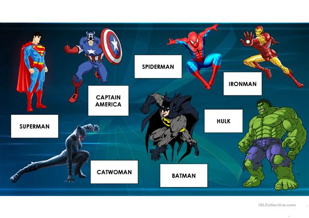 Superheroes and Superpowers
