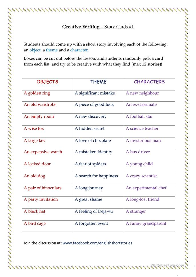ideas for teaching creative writing to adults Lesson plans that teach creative writing and storytelling  creative writing step 1- story ideas lesson plan teach a simple formula  website for kids and adults.