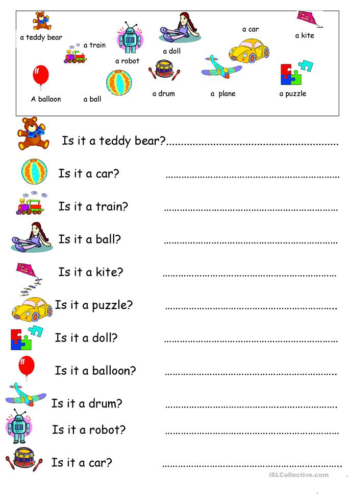 This And That Worksheets With Pictures For Kindergarten