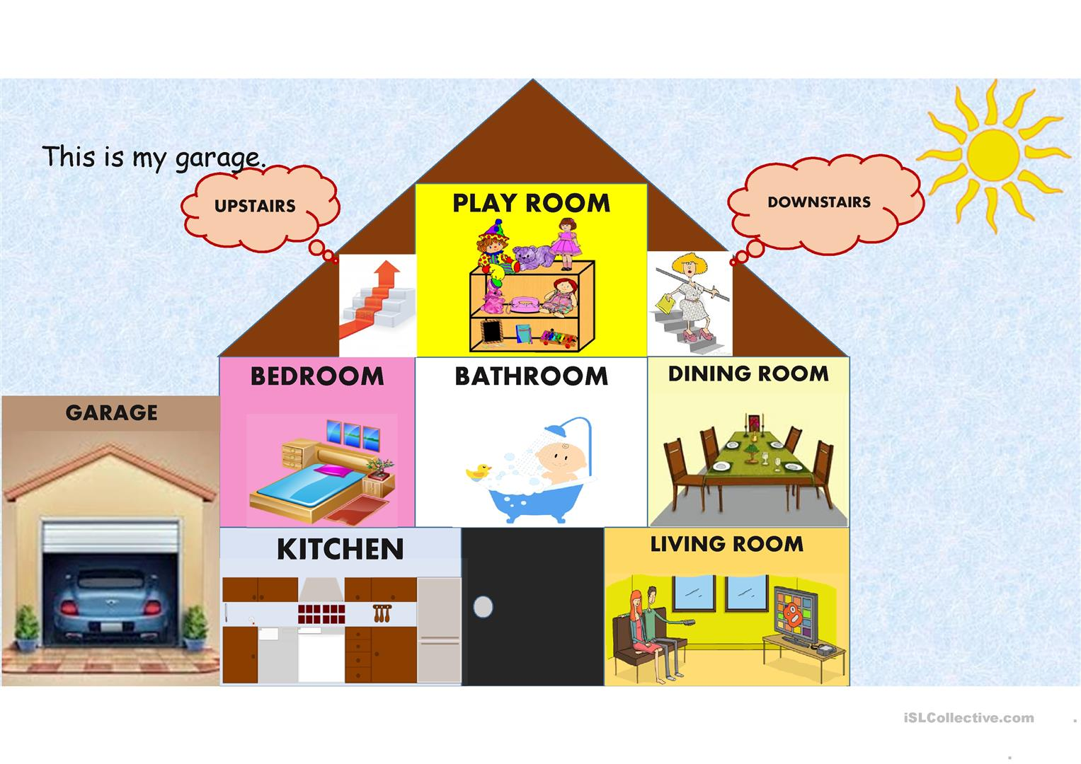 MY HOME (parts of house) - English ESL Powerpoints for ...