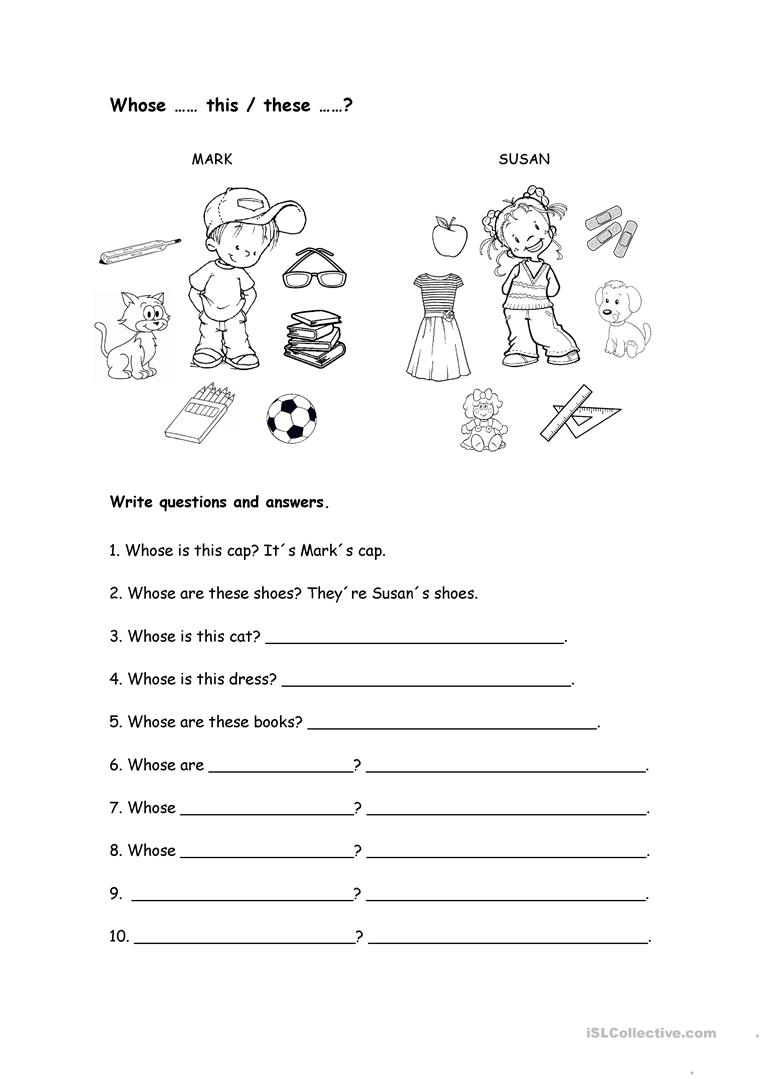 whose worksheet worksheet free esl printable worksheets made by teachers. Black Bedroom Furniture Sets. Home Design Ideas