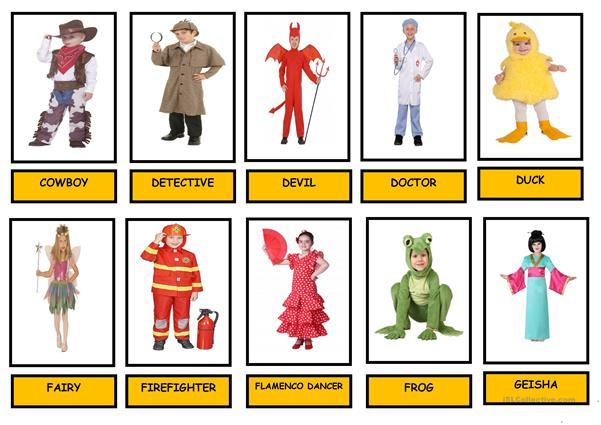 CARNIVAL  COSTUMES - Cards (2)