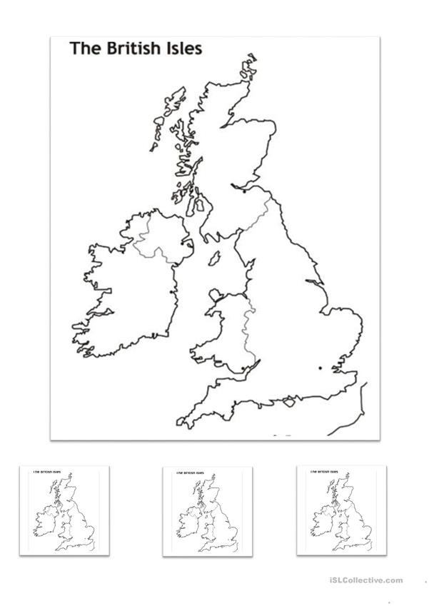 The British Isles RECAP Worksheet