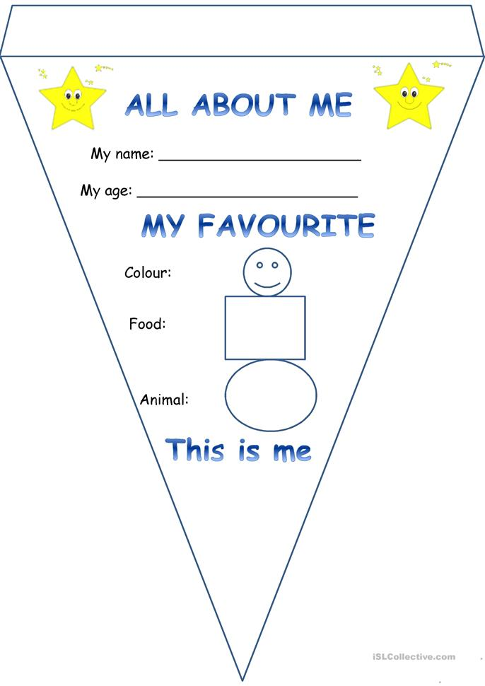 free printable all about me worksheet pdf