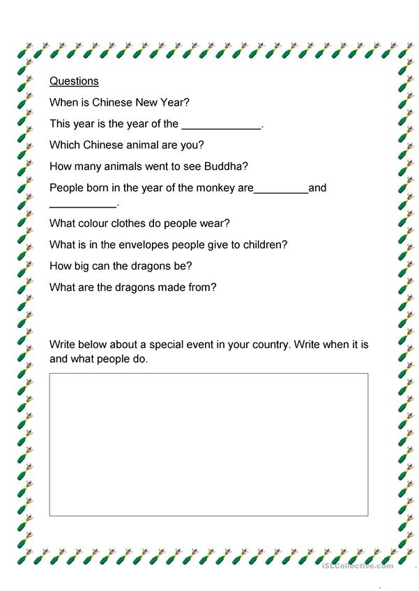 chinese new year 2016 worksheet free esl printable worksheets made by teachers. Black Bedroom Furniture Sets. Home Design Ideas