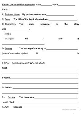 how to book report