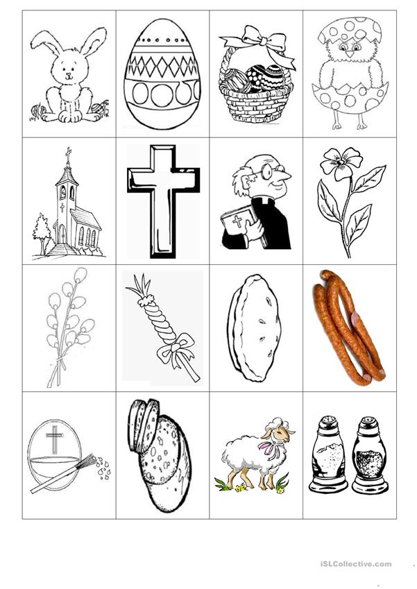 Symbols of Easter - flashcards