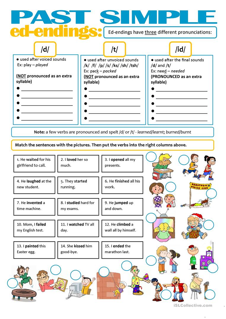186 best Prefi and Suffi Activities images on Pinterest in besides Listening Activities for the Past Simple   Off2Cl likewise Free Printables   The Measured Mom furthermore  also  moreover Word Sort  Sounds of  ed Inflectional Endings by Cyndy Guerrettaz moreover PHONICS The 3 sounds of ED at the end of a word  by coreenburt furthermore  in addition Short Vowels Middle Sounds Worksheets And Activities Little further SIMPLE PAST   ed endings  pronunciation  worksheet   Free ESL in addition PHONICS The 3 sounds of ED at the end of a word  by coreenburt further PHONICS The 3 sounds of ED at the end of a word  by coreenburt together with Specific American English Pronunciation Challenges for ELL's in addition  as well  moreover First Grade Reading Sheets Collection Of Free Grade Reading. on 3 sounds of ed worksheet