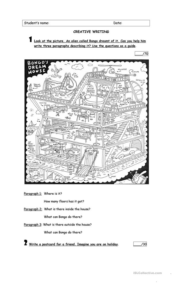 creative writing worksheets for elementary students Use our third grade worksheets to help your students advance their creative writing skills printables include writing prompts, proofreading checklists, inspiration for writing, and puzzles to improve vocabulary.