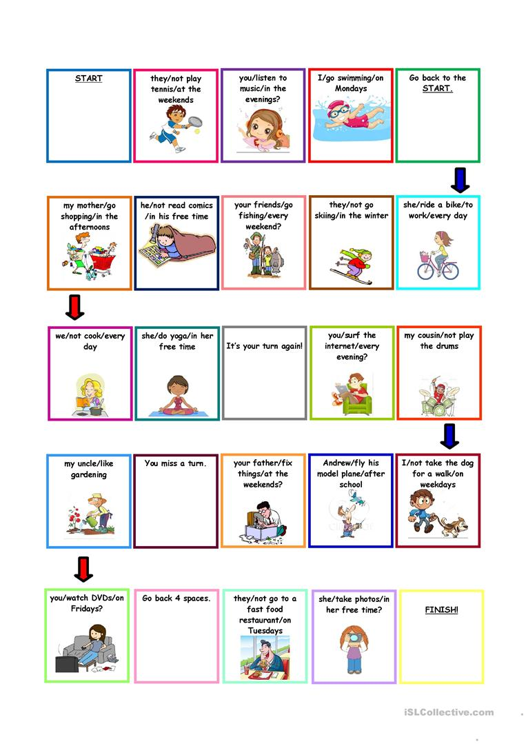 184 Free Esl Present Simple Tense S For Third Person Singular Verbs