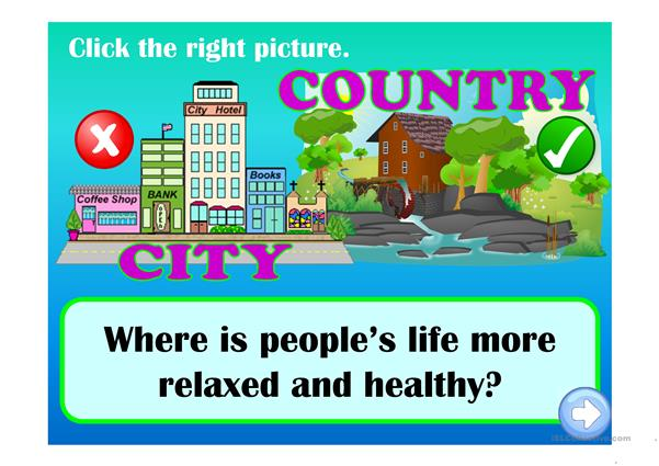 City vs Countryside life - where is life more...?
