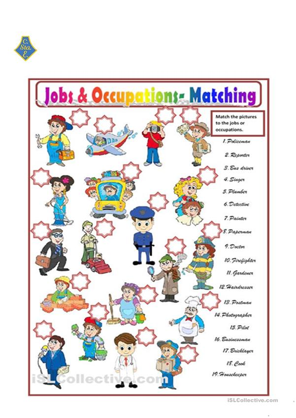 jobs and occupations.