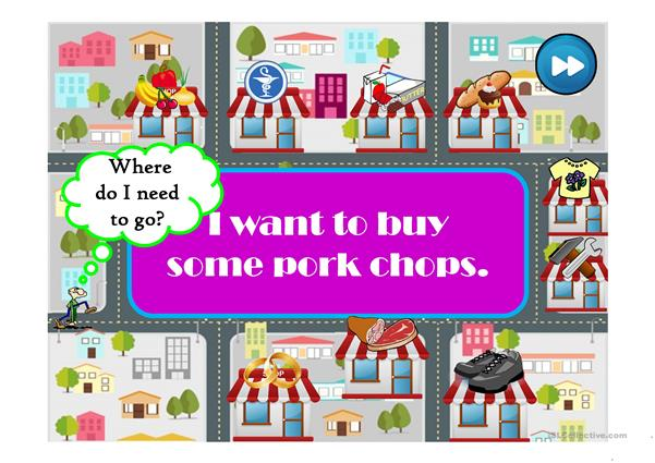 WHERE CAN I BUY...? - an interactice game